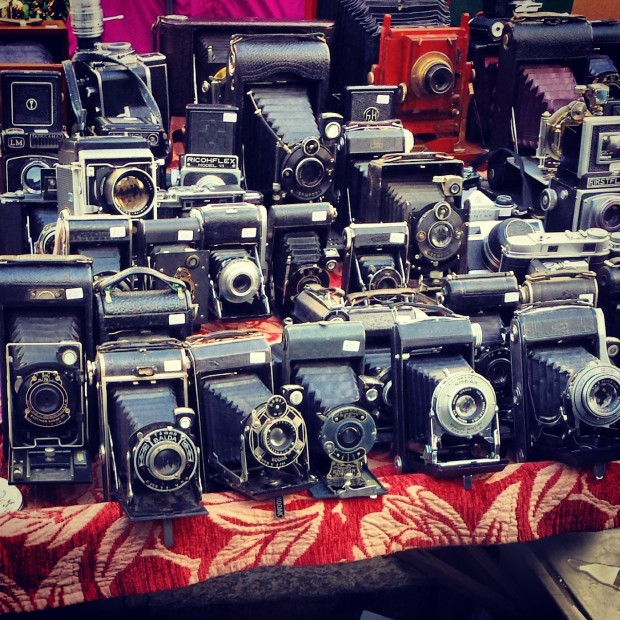 cameras on portobello market
