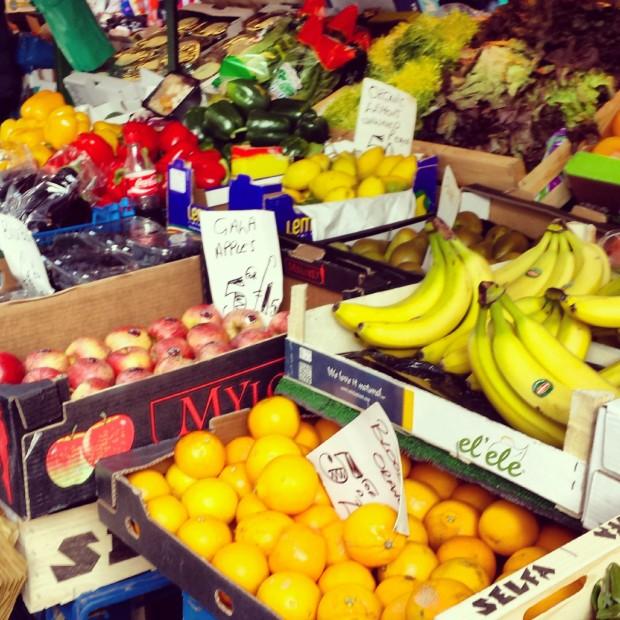 Fruit & Veg on Portobello Market