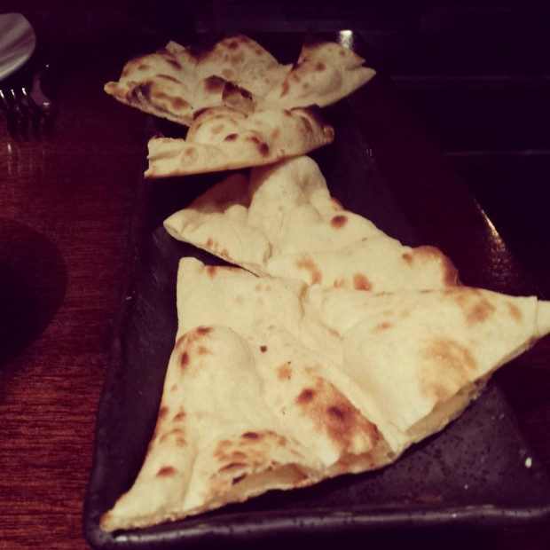 Naan Bread Mint Leaf Restaurant Piccadilly
