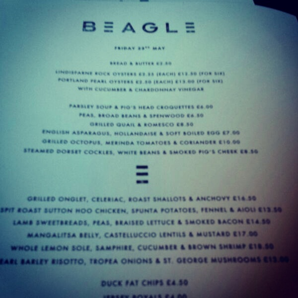 beagle-london-menu