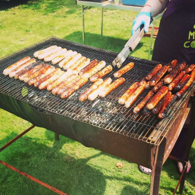 Sausages-on-the-bbq