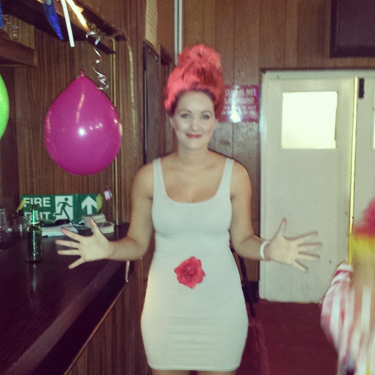 Diy fancy dress troll doll haveyouheardthelatest for Diy party dress