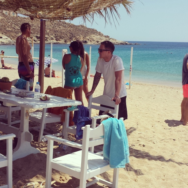 waiting-to-get-our-wetsuits-go-dive-mykonos