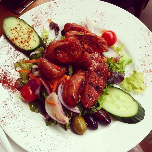 chorizo-salad