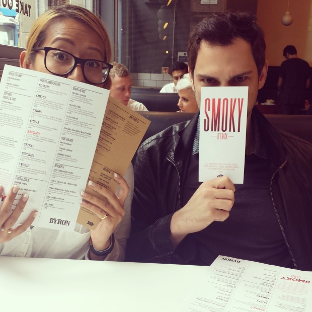 menu-posing