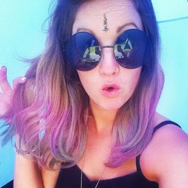 purple-dip-dye-hair-chalks-bleach-london