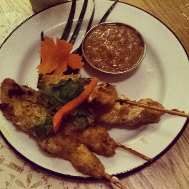 chicken-satay-rosas-restaurant
