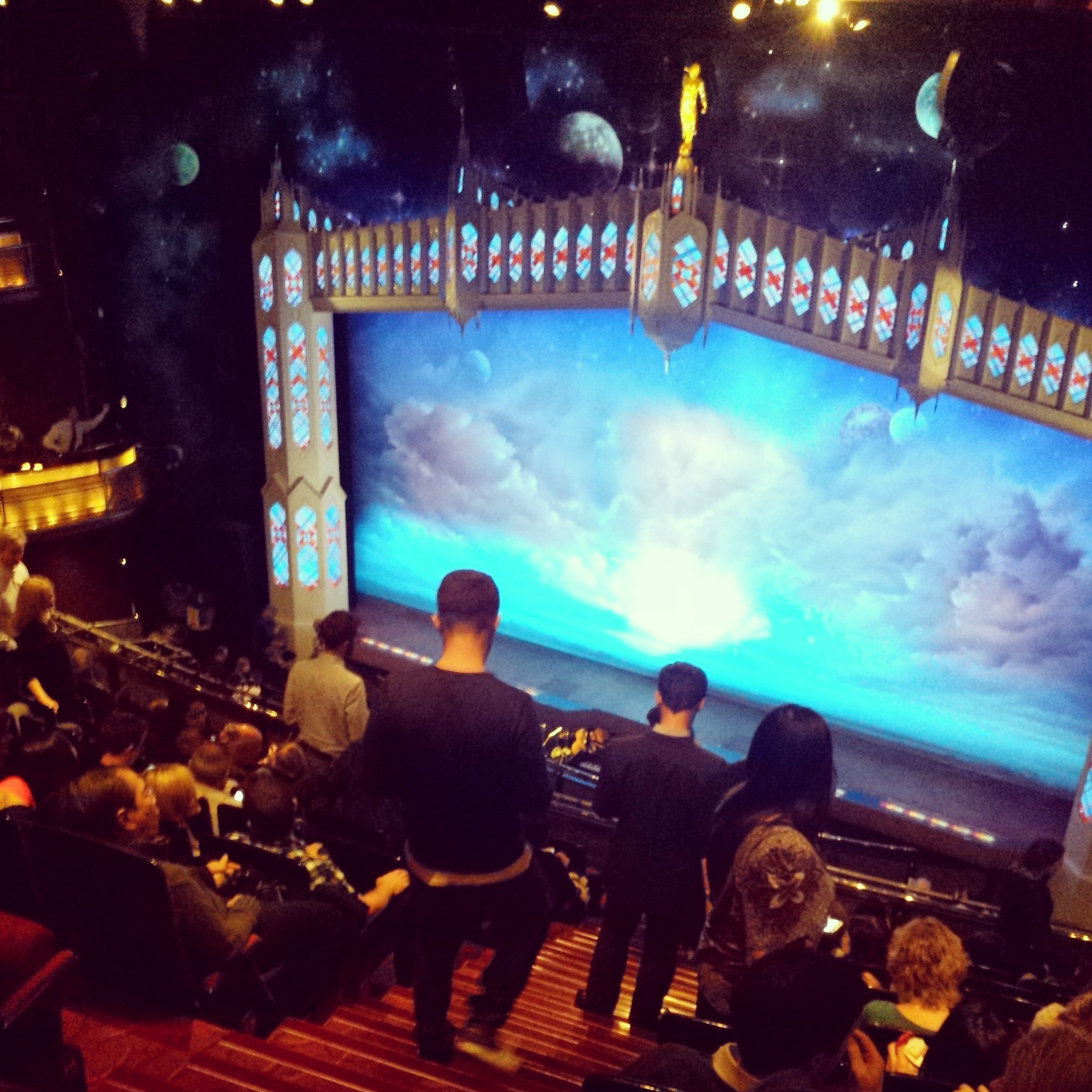 The Book Of Mormon Stage Prince Wales
