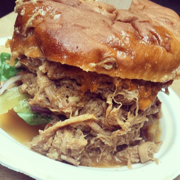 pulled-pork-bap-maltby-market