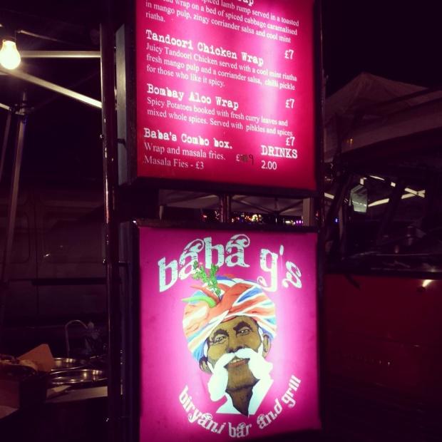 baba-g's-menu