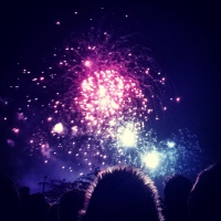 Fireworks night at Alexander Palace