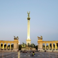 Buda-ful Budapest - Day One: City Park, Heroes Square & Spoon the Boat