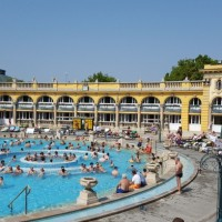 Budapest Day Two: Szechenyi Thermal Baths, Burgers & Ruin Bars
