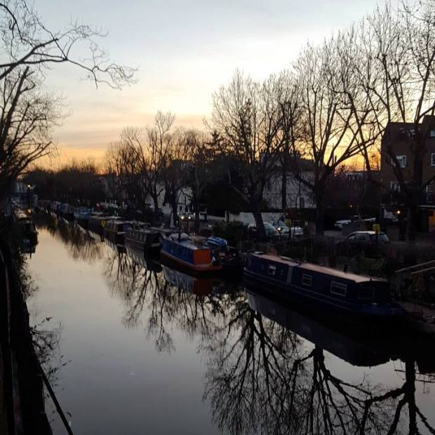 Sunset_Maida_Vale_Regents_canal_London