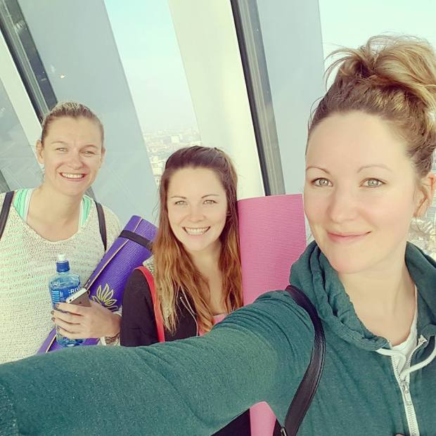 Morning Yoga at the Sky Garden