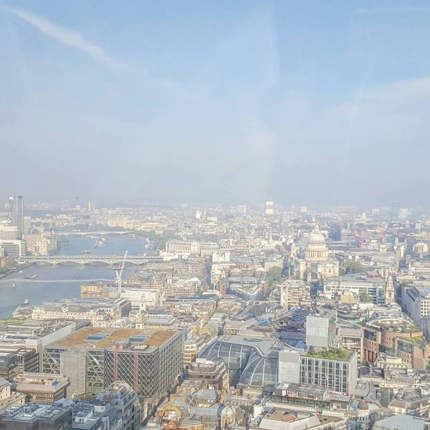 View from the Sky Garden
