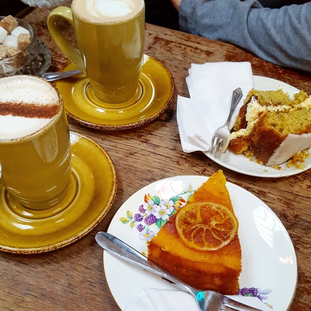Cake and coffee in Forest Hill