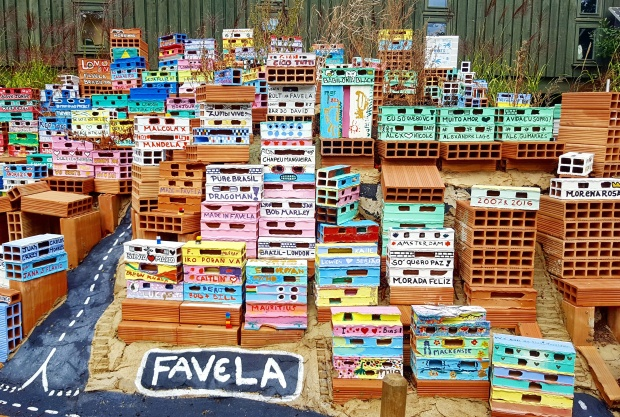 Model Favela at the Horniman museum